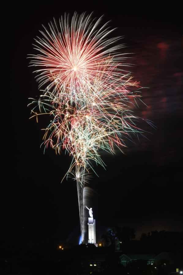 Birmingham, fireworks