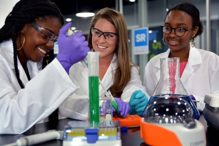 Southern Research Institute's new STEM Education Outreach Lab will host 50 high school students who will use it to conduct physical and life science experiments