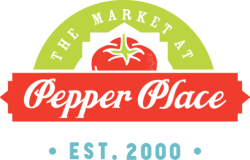 logo, market at pepper place