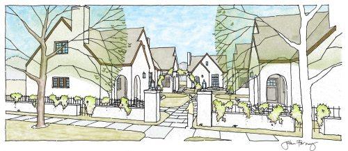 Birmingham, Alabama, Avondale, Cottages on Fifth