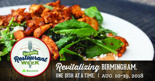 Birmingham Restaurant Week August 2018, BRW, Alabama
