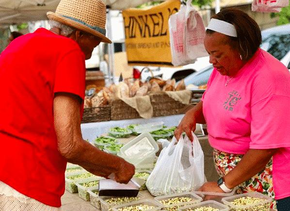 Birmingham, Alabama, Caver's Farm. Photo via the Market at Pepper Place, BBVA business workshops