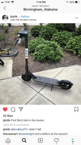 Birmingham, Alabama, scooter