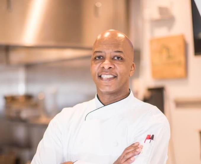 Chef Jerome Jones is shaking things up at The Pizitz Food Hall with a new BBQ and taco fusion restaurant