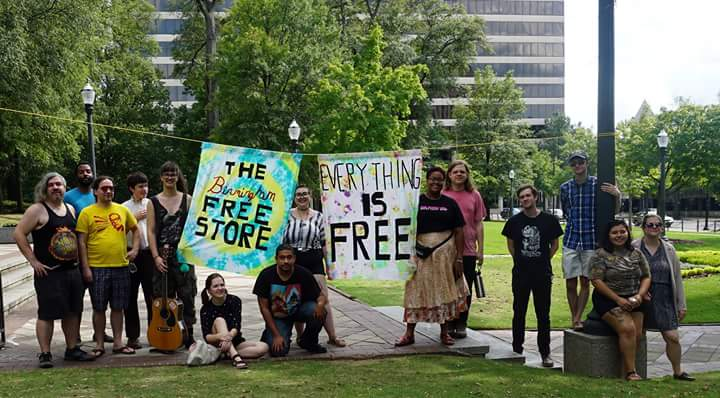 Birmingham, Alabama, Shared Economy, Free Store