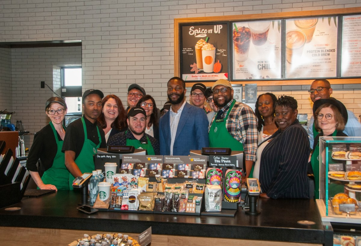 Starbucks opens 11th Community Store in the U.S. at Crossplex Village in Birmingham's Five Points West.  Here's what you need to know.