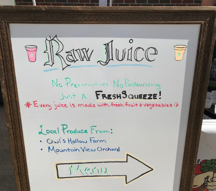 Birmingham, Alabama, Market at Pepper Place, Fresh Squeeze