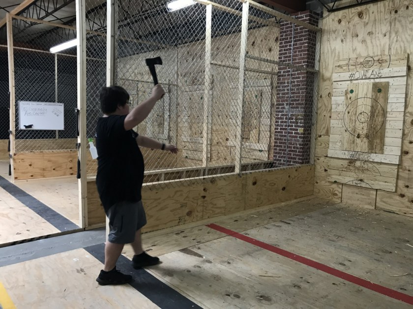 Birmingham, Alabama, new recreational activities, Civil Axe Throwing