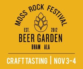 Moss Rock Festival Beer Garden