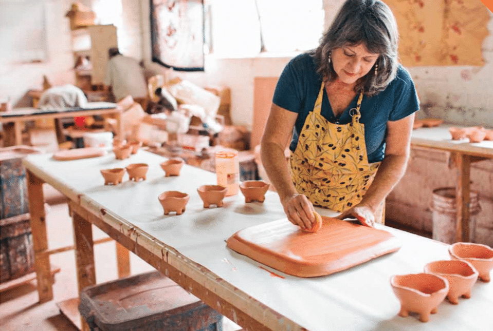 4 Places to take a pottery class in Birmingham, including Red Dot Gallery