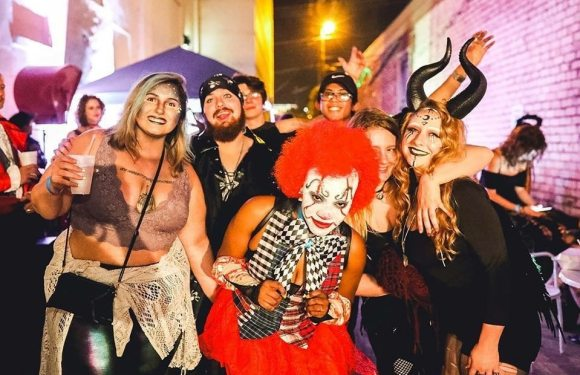 Birmingham, Witches Ball, Halloween, party