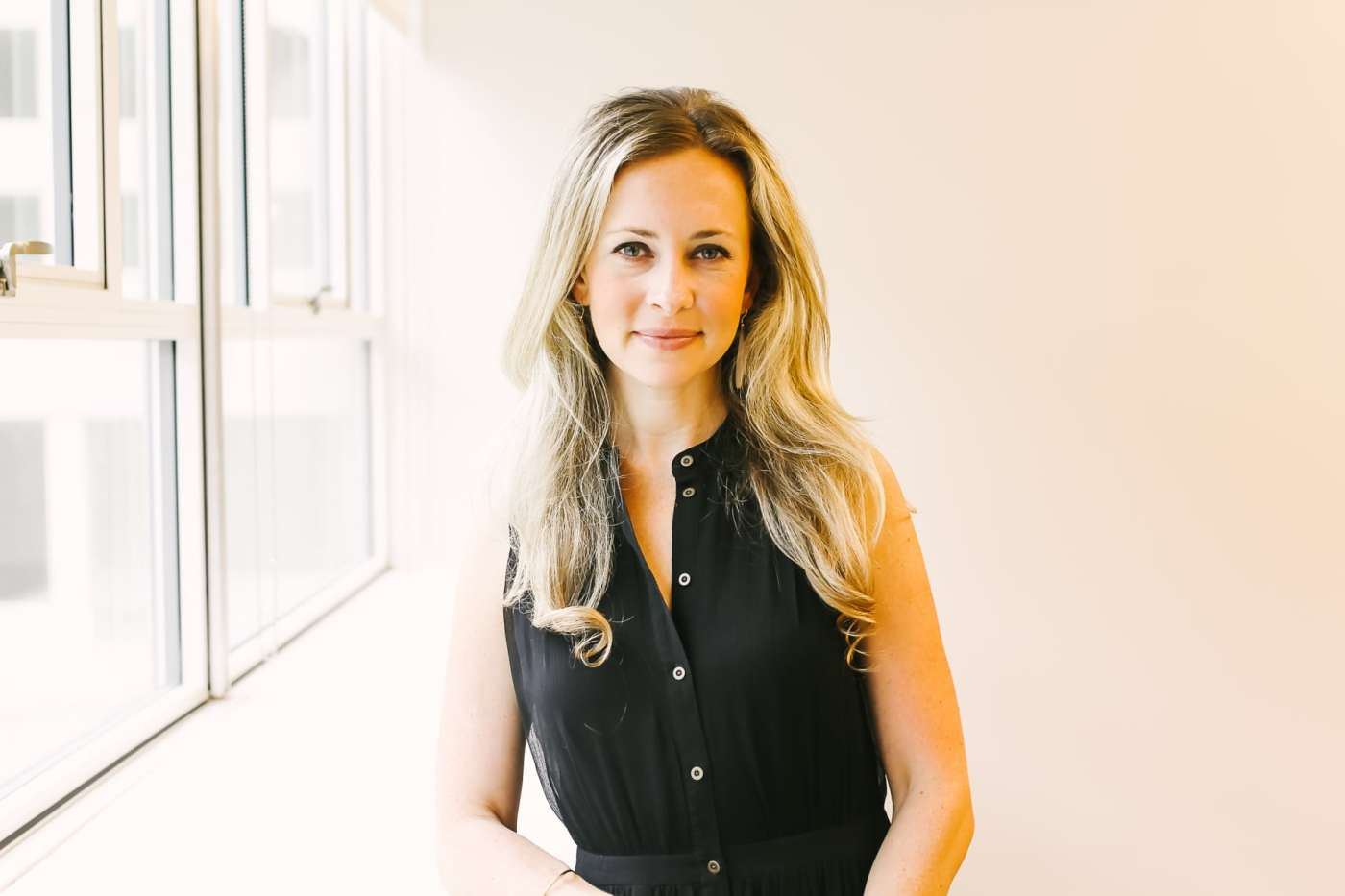 Suzanne Humphries of Suzanne Humphries Design, a Birmingham-based Interior Design firm that operates out of Forge Coworking space. Photo by Lauren Bedford for Bham Now