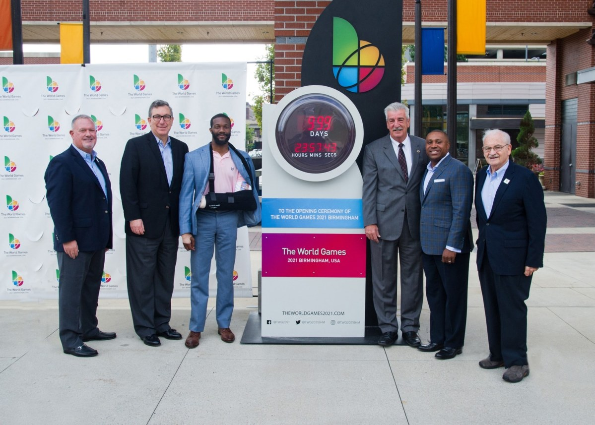The 2021 Birmingham World Games announces three huge sponsors at 1,000 day countdown celebration