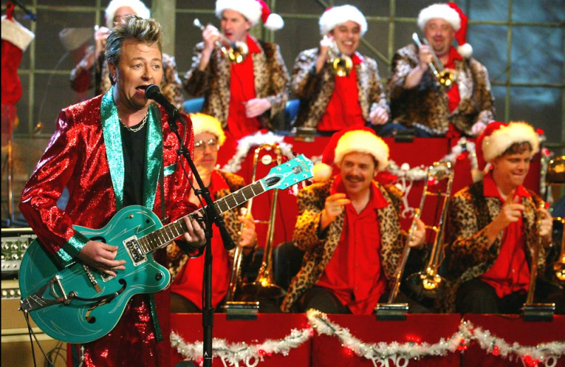 Birmingham, Brian Setzer, holiday music, holiday concerts, Brian Setzer Orchestra