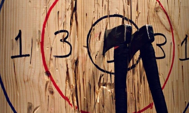 Birmingham, Civil Axe Throwing, holiday entertaining