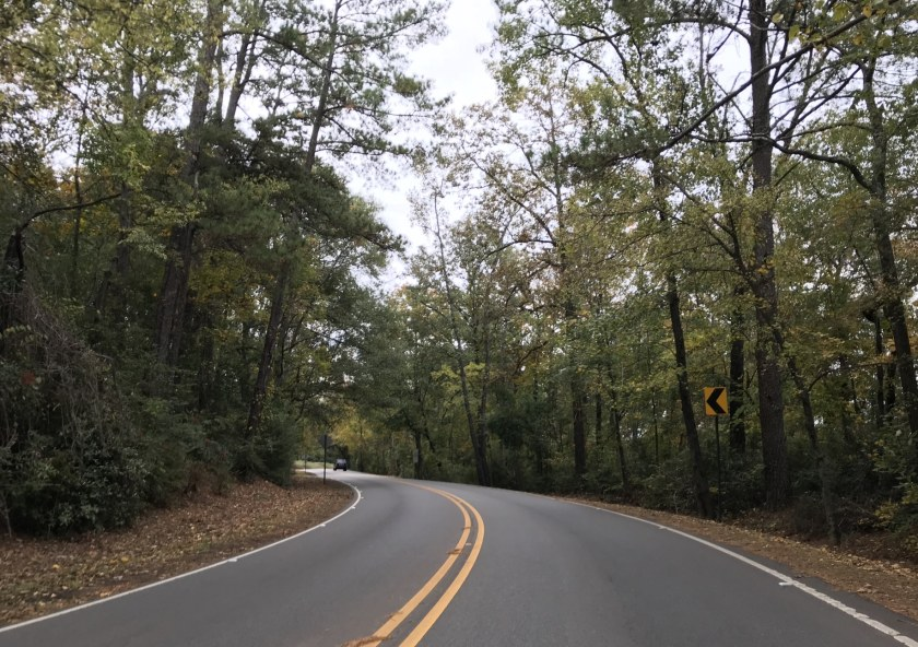 Birmingham, Mountain Brook, Country Club Road Mountain Brook, Driver's Way, scenic drives, fall drives