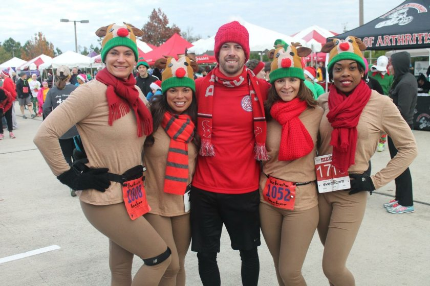 Birmingham, Jingle Bell Run, Birmingham 5K, winter runs, fall runs