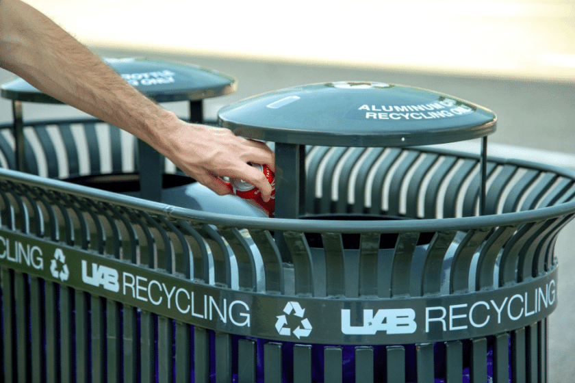 Where can you recycle household hazardous wastes? Alabama