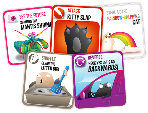 Birmingham, Exploding Kittens Card Game