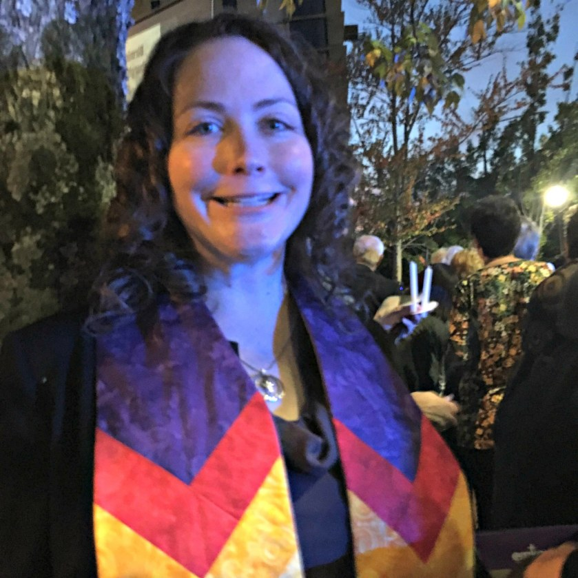 Rev. Julie Conrady of the Unitarian Universalist Church of Birmingham in a piece on holiday depression in Birmingham. She hosts a Blue Christmas service on December 16th at 5 pm.