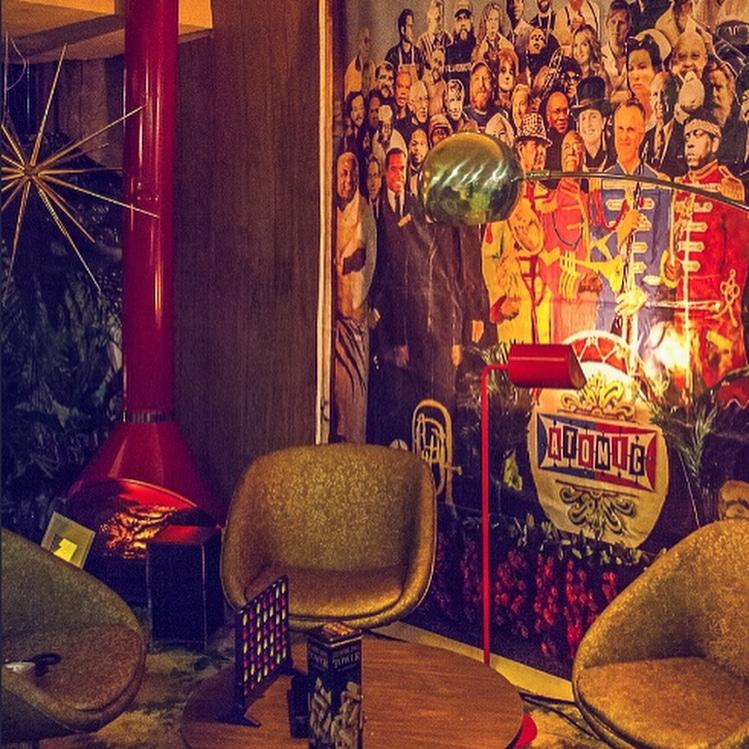 Birmingham, Alabama, cocktail bars, cocktail bars in downtown Birmingham, The Atomic Lounge