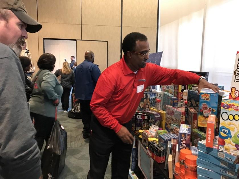 Birmingham, Alabama, Children's of Alabama Sugar Plum Shop 2018, Regions Bank