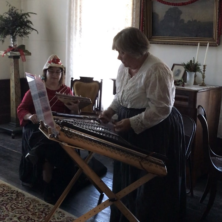Bessemer, McCalla, Alabama, Eastern Valley Road, West Jefferson County Historical Society, Christmas Heritage Tour, Pioneer Homes, Owen House, dulcimer