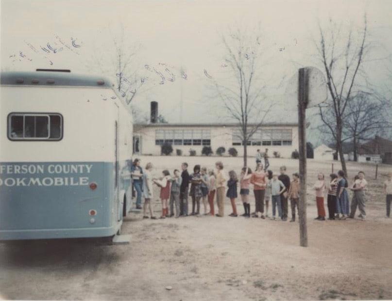 Birmingham, Alabama, Jefferson County Libraries Cooperative, bookmobile