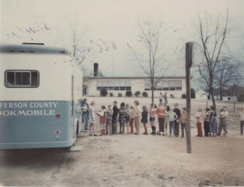 Birmingham, Alabama, Jefferson County Libraries Cooperative, bookmobile