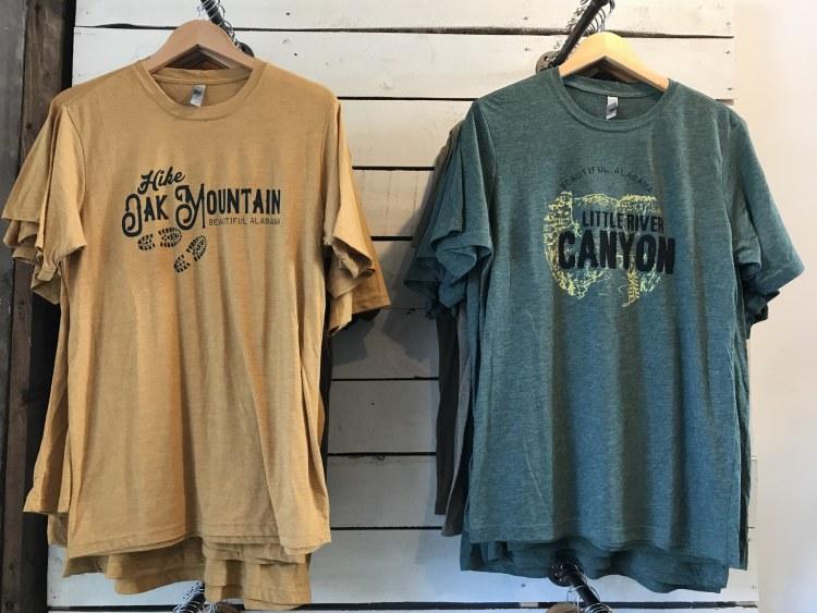 Birmingham, Alabama, Original B'ham Apparel Co., The Battery, t-shirts, tees, Oak Mountain, Little River Canyon