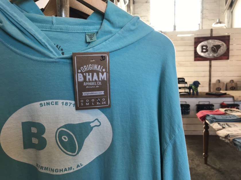 Birmingham, Alabama, Original B'ham Apparel Co., The Battery, hoodie