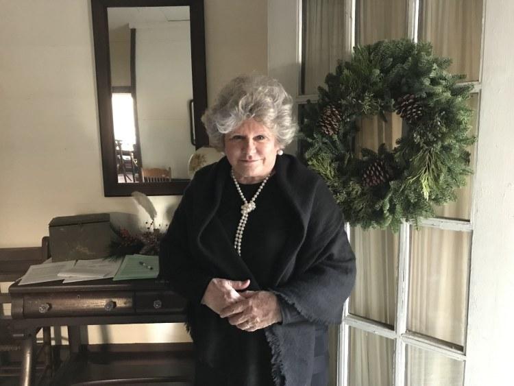 Connie Grund, Daughters of the American Revolution, Owen House, Christmas Heritage Tour, Bessemer, McCalla, Alabama