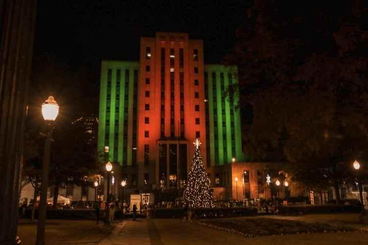 Birmingham, Linn Park, Driver's Way, Christmas lights, Christmas decorations, light displays