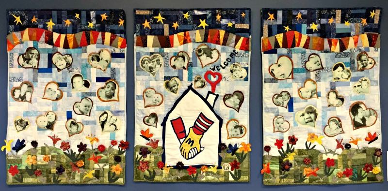 Ronald McDonald House Charities of Alabama welcomes guests with beautiful artwork made by local artists