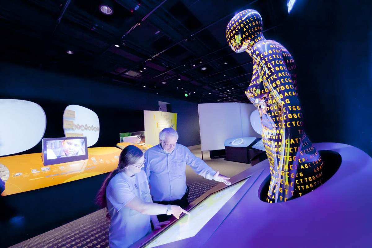McWane Science Center, Birmingham, UAB Medicine, Genome, Genome: Unlocking Life's Code, exhibits, science