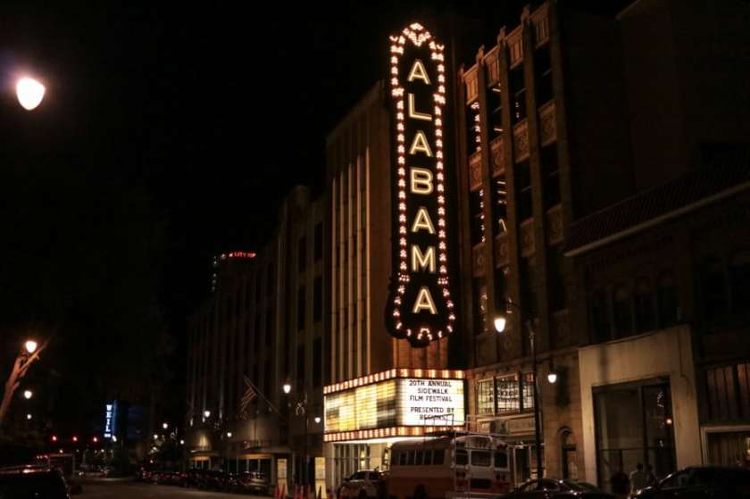 Birmingham, Alabama, Newcomers' guide to Birmingham, Alabama Theatre, Sidewalk Film Festival
