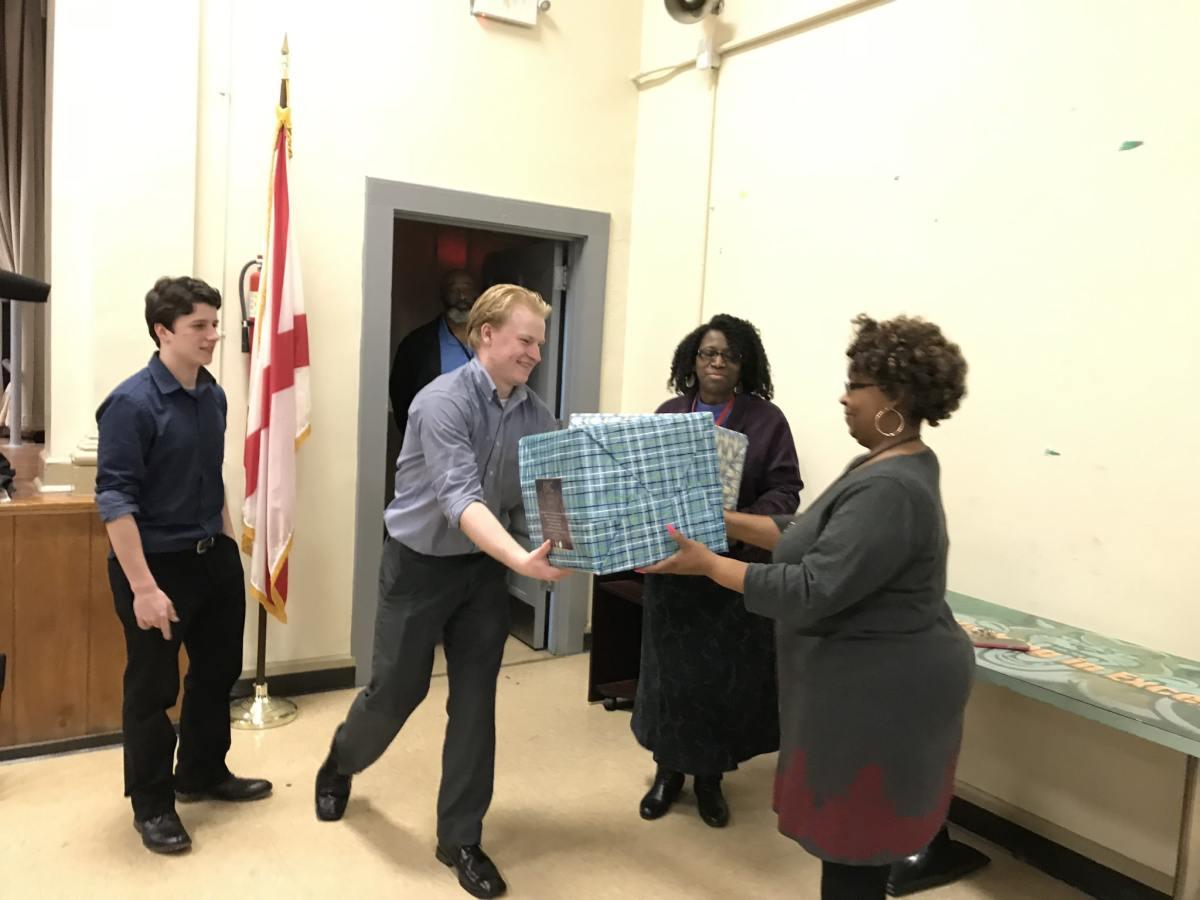 Birmingham high school students raise $5K in supplies for elementary schools