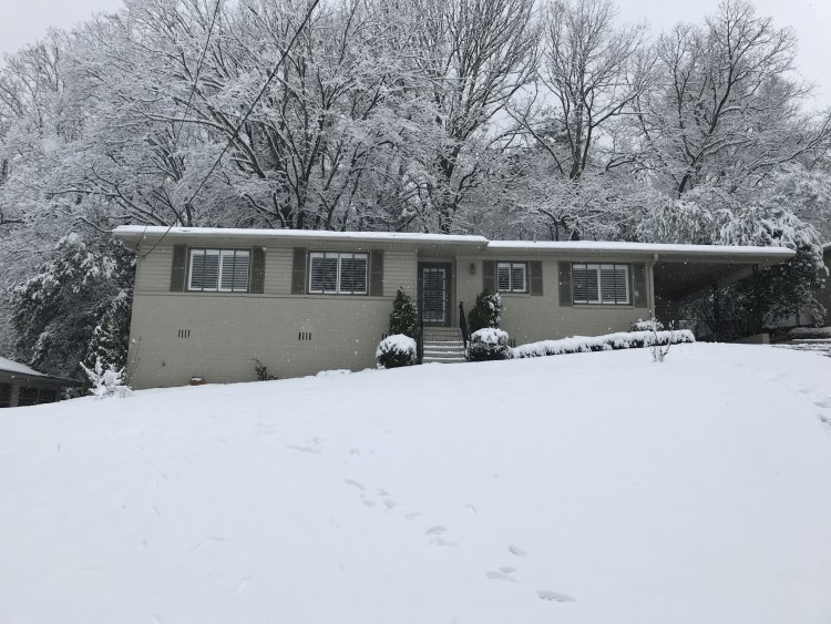Birmingham, Alabama, Newcomers' guide to Birmingham, snow day, South Crestwood
