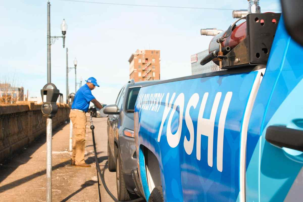 Gas delivery service Yoshi launches in Birmingham January 14. Use code BHAMNOW for $10 credit and one month FREE.