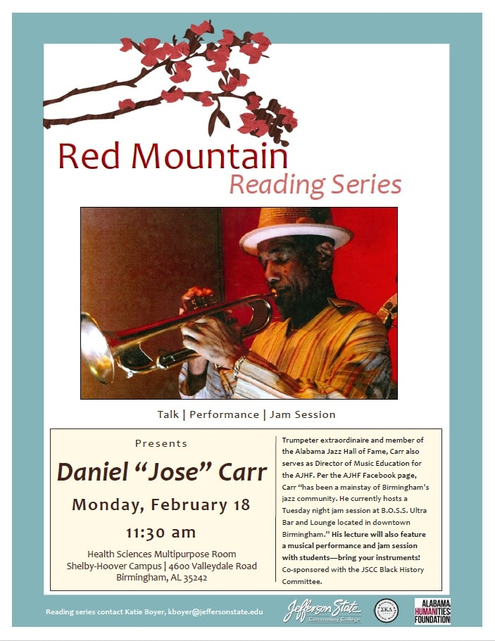 Red Mountain Reading Series at Jefferson State Community College