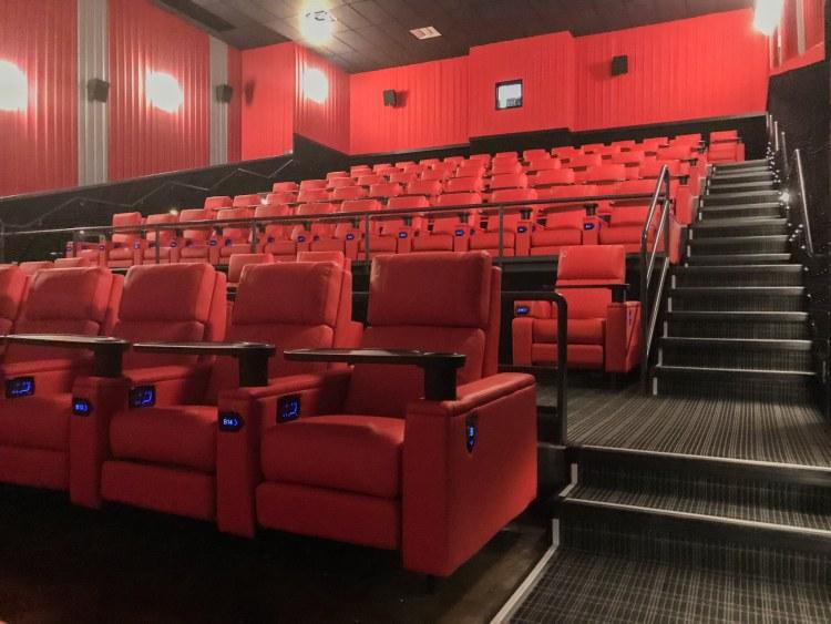 Birmingham, Alabama, Pell City Premiere Lux Cine, movie theater, reclining seats