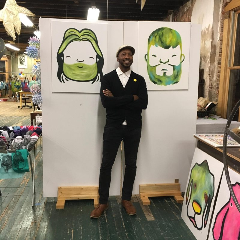 Chris Davis is one of 5 Birmingham artists you want to get to know.