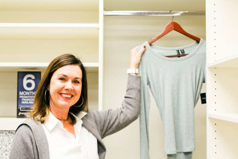 Karen Oosterveen is one of the designers at Closets by Design in Birmingham