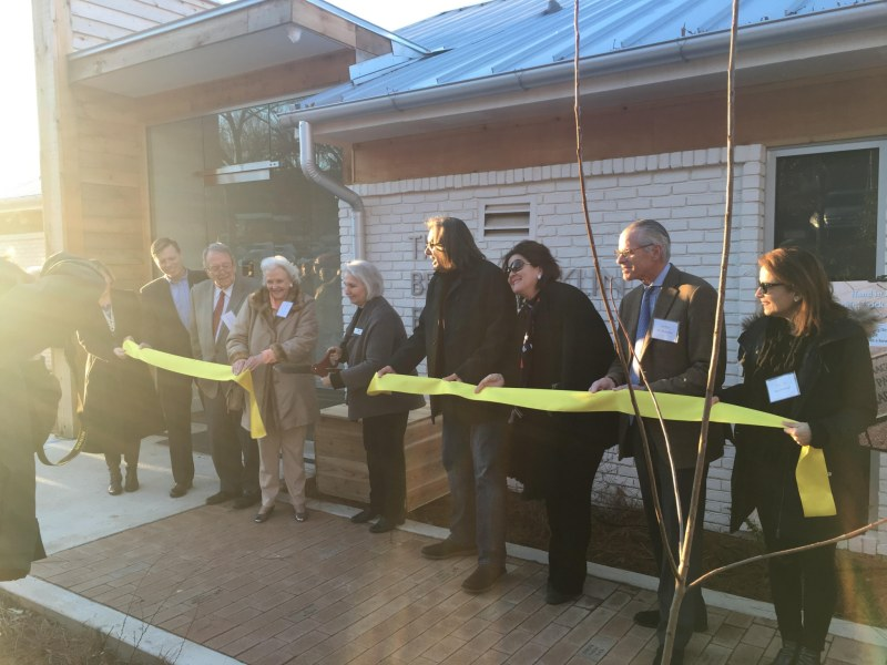 Hand in Paw's ribbon cutting was a chance to celebrate their new building in Avondale.