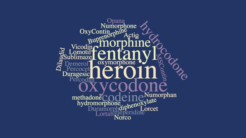 The opioid crisis in Birmingham: commonly used and abused opioids