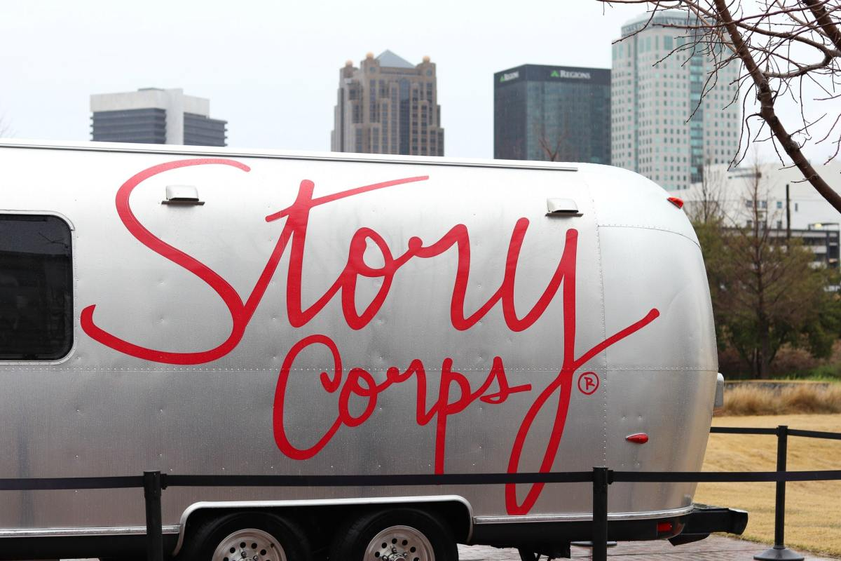 StoryCorps' MobileBooth is in Birmingham for five weeks. Register now to tell your story at Railroad Park.