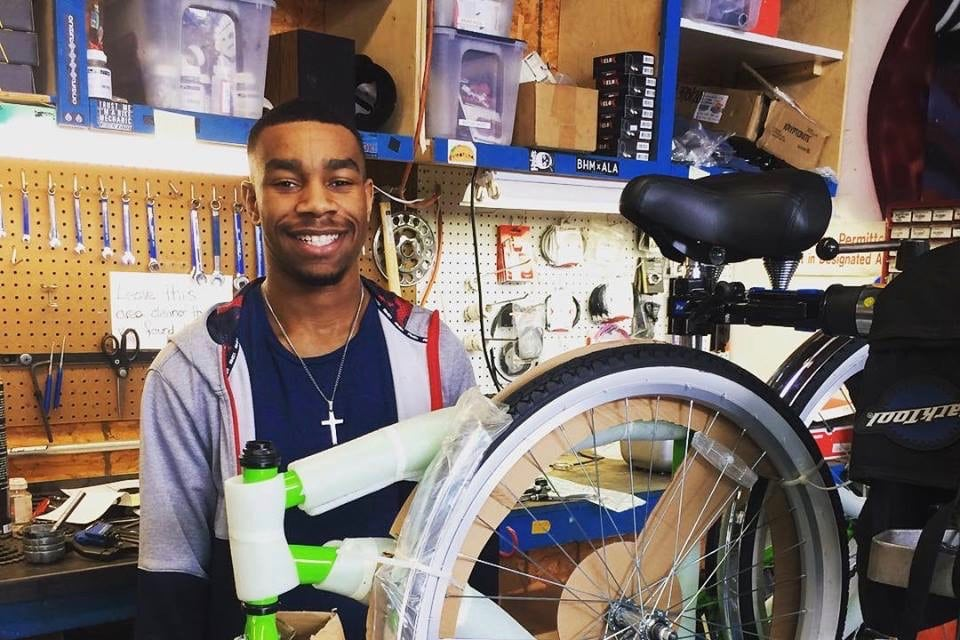 Redemptive Cycles internship provides hands-on experience for Birmingham high school senior