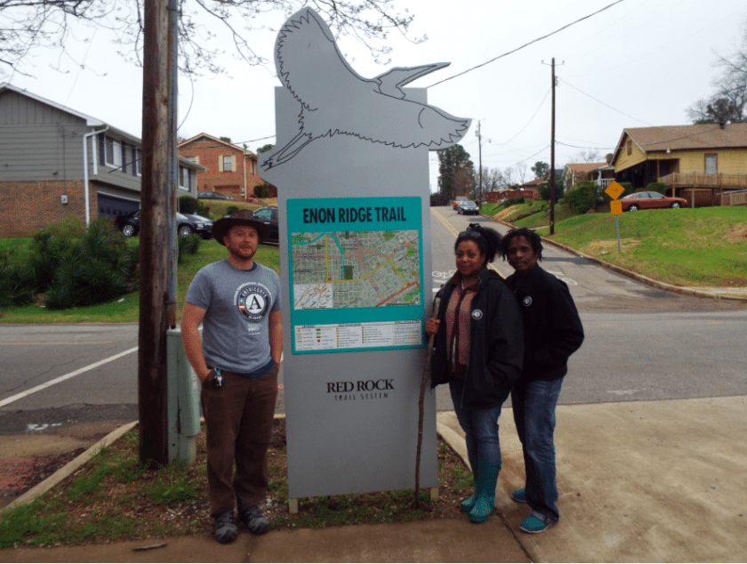 Birmingham, Alabama, Dynamite Hill-Smithfield Community Land Trust, Enon Ridge Trail, Adopt-A-Trail, Freshwater Land Trust