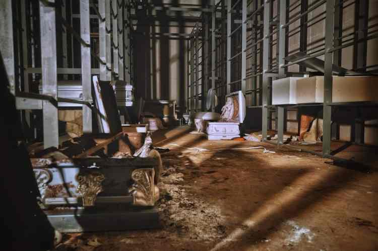 Underground Birmingham found an abandoned funeral home.