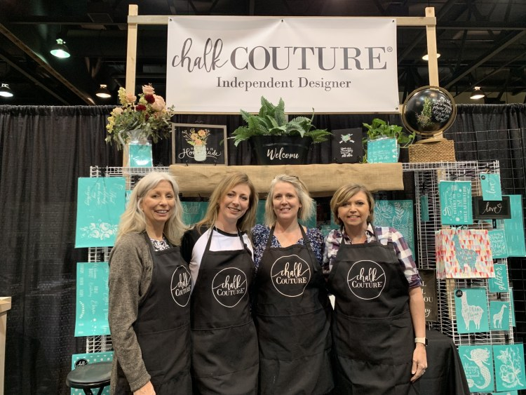 Chalk Couture booth